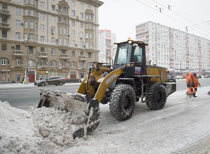 За несвоевременную расчистку улиц штрафуют