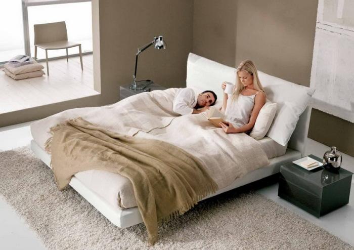 Выбор двуспальной кровати обусловлен условиями эксплуатации