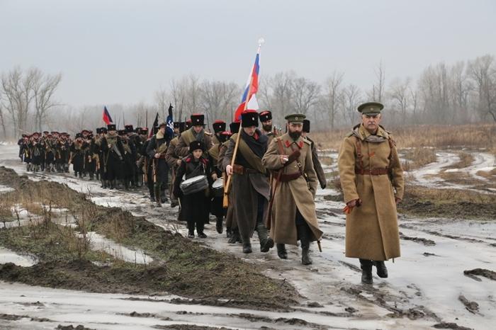 В память о трагических событиях начала гражданской войны на Дону