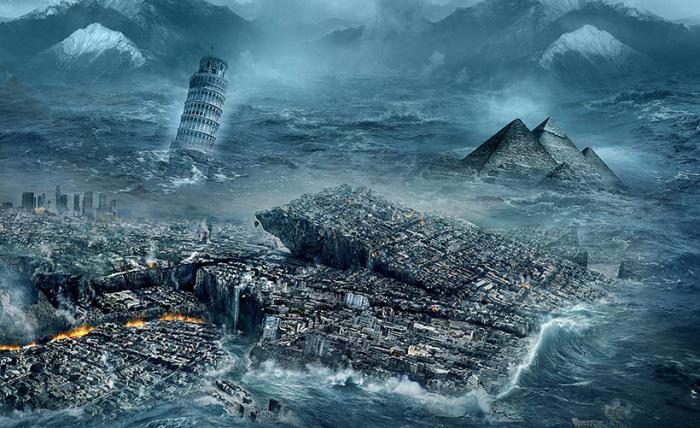Какую часть земли не затопит