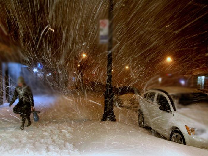 И снег, и ветер обещают синоптики до конца недели