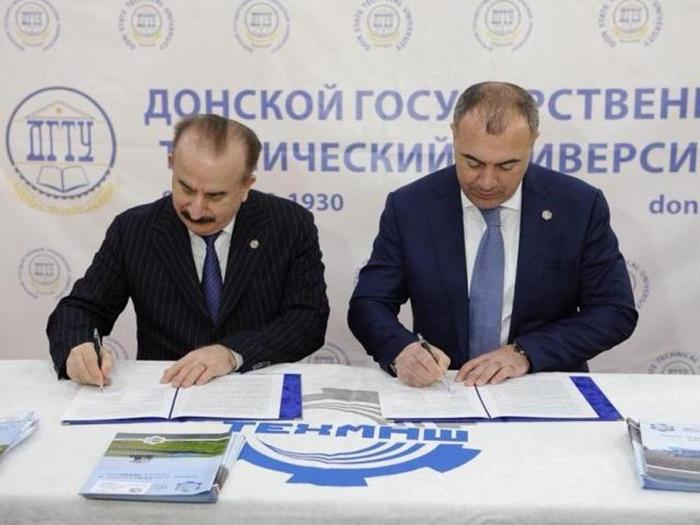"Между шахтинским ""Техмашем"" и ДГТУ подписано соглашение о сотрудничестве"
