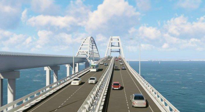 Крымский мост откроют к лету