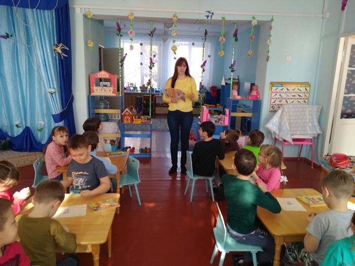 Библиотека пришла в детский сад