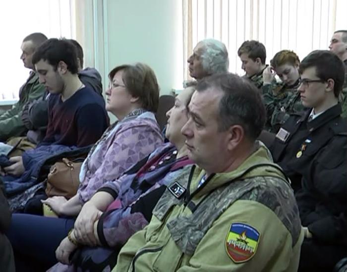 В кадетском корпусе встретились казаки-поисковики