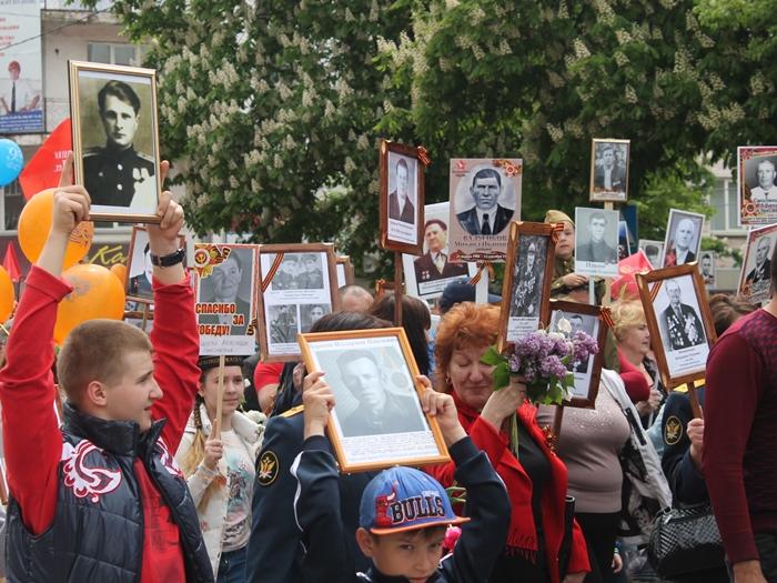 """В МФЦ города Шахты проходит акция """"Бессмертный полк"""""""
