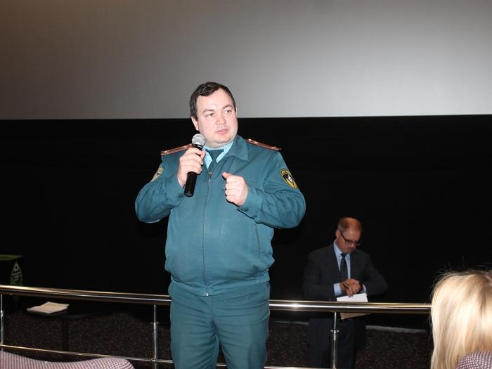 """В """"Максимуме"""" вновь говорили о пожарной безопасности"""