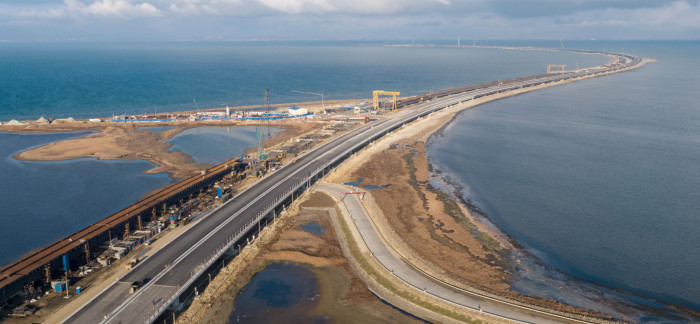 """Участок магистрали """"Таврида"""" практически готов к открытию движения. ВИДЕО"""