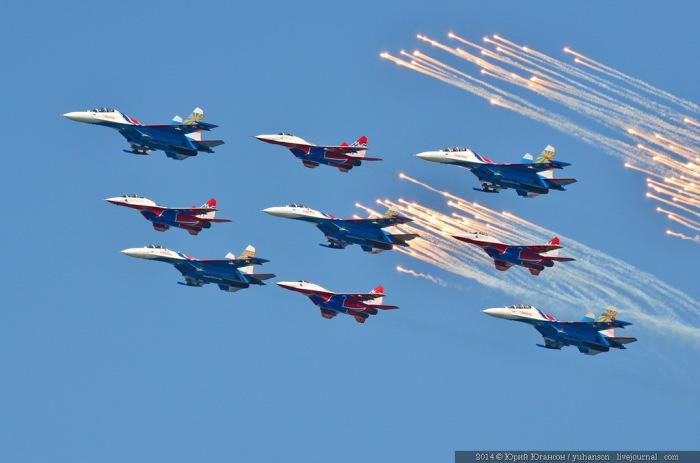Время проведения авиашоу и парада боевых кораблей в Ростове-на-Дону изменилось
