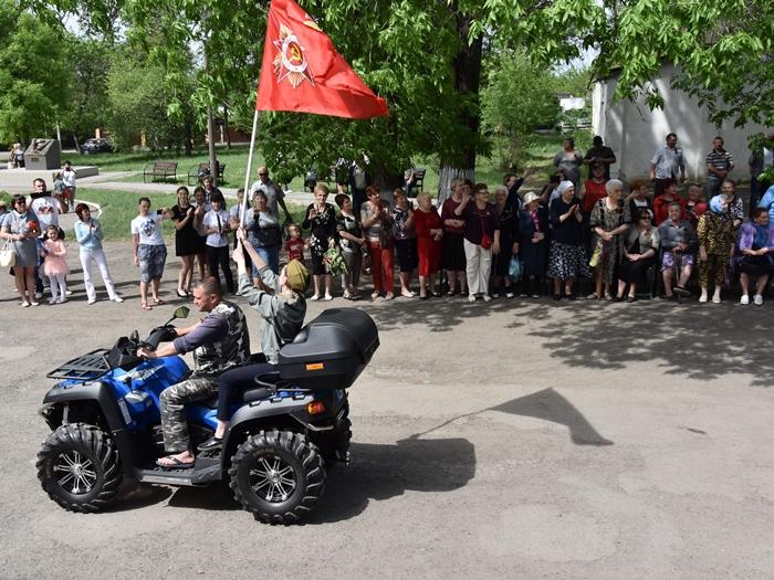 День Победы в посёлке Таловом