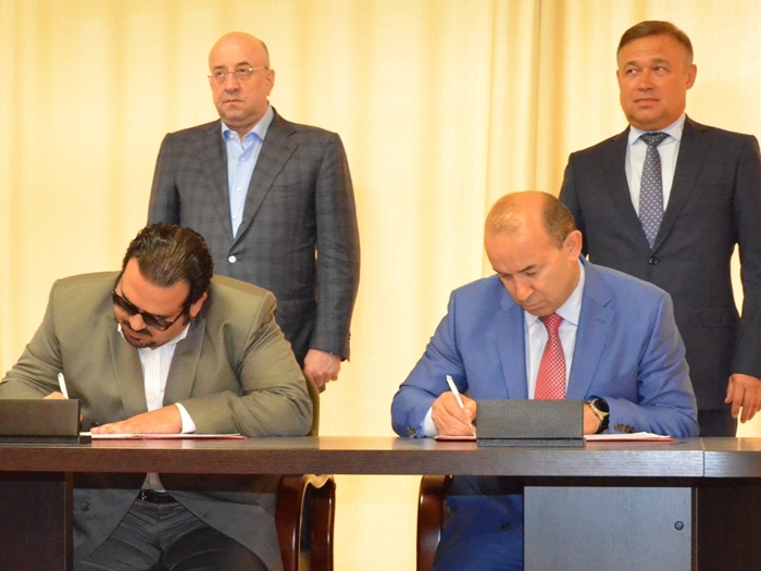 Вадим Ванеев подписал меморандум с шейхом Бахрейна