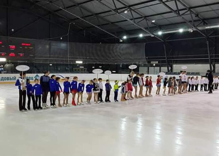 В Шахтах прошли первые соревнования по фигурному катанию