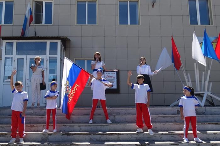 Красинцы отметили День России