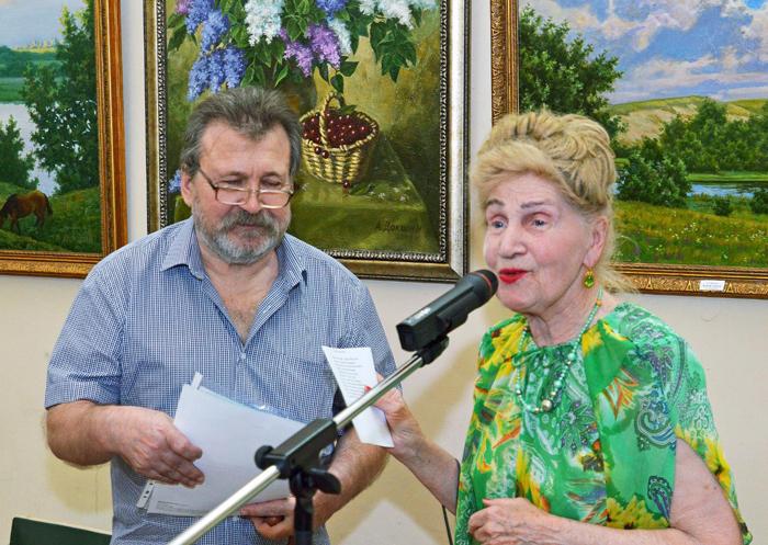 До конца июля в краеведческом музее будет открыта выставка Александра Докшина