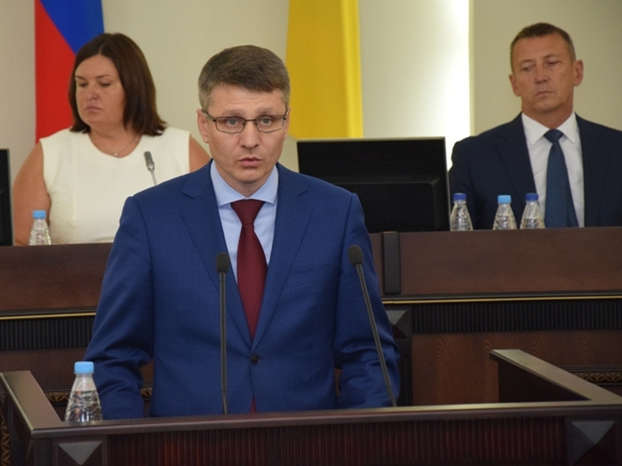 Андрей Ковалёв назначен главой администрации города Шахты. Видео
