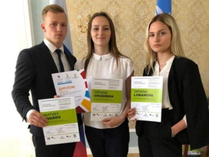 Шахтинские гимназисты представили свои социальные инициативы в Женеве