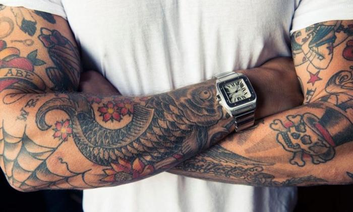 Судебным приставам поставлена задача: конфисковать… татуировку
