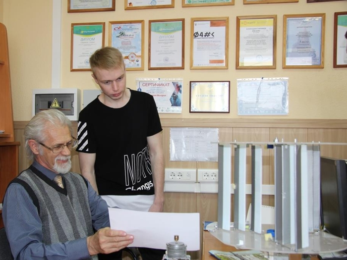 В Шахтинском филиале ДГТУ разработан уникальный ветрогенератор