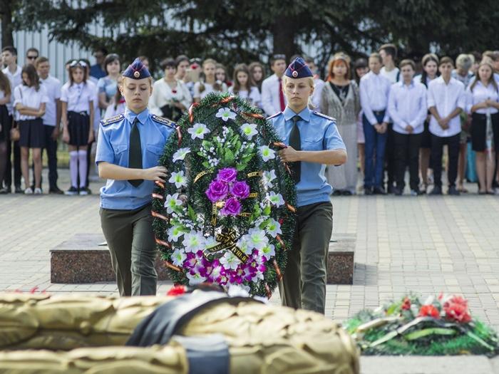 В Шахтах отметили 75-ю годовщину освобождения Ростовской области