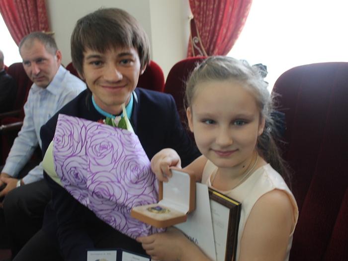 Анастасии Эбитовой вручили  Чароитовую звезду