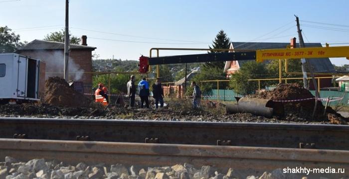 36 тысяч шахтинцев оставили без воды, чтобы предотвратить подтопление на железной дороге