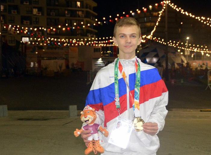 Третьи юношеские Олимпийские игры принесли победу шахтинскому тхэквондисту