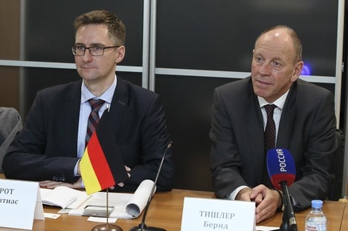 Германия готова участвовать в проектах по развитию донских моногородов