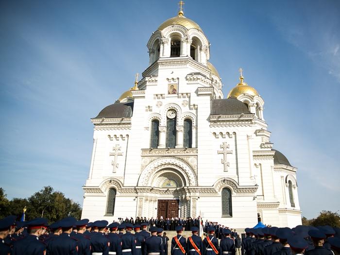 В Новочеркасске отметили главный казачий праздник