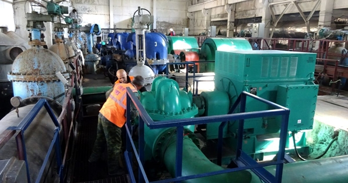 Ещё на двух водоподъёмах установлено новое энергоэффективное оборудование