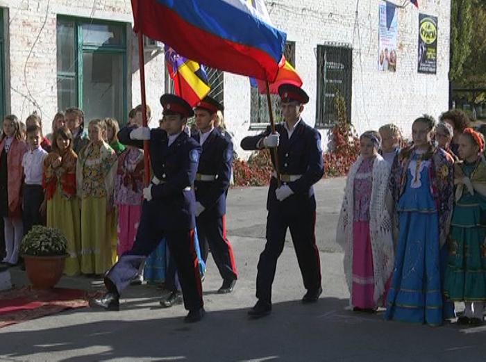 Пятиклассники 23 школы теперь по праву могут считать себя казачатами