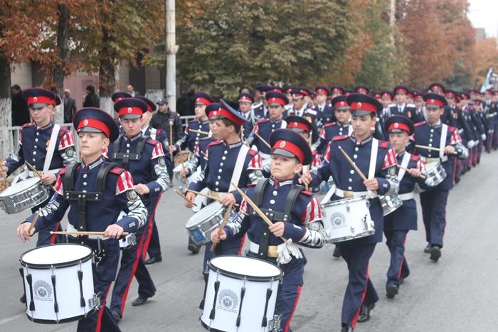 В Шахтах прошёл кадетский праздник