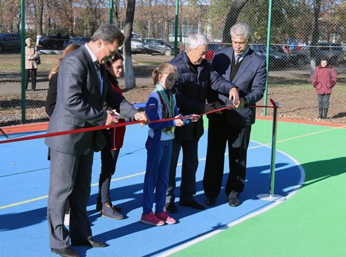 В Шахтах открыли сразу два спортивных комплекса