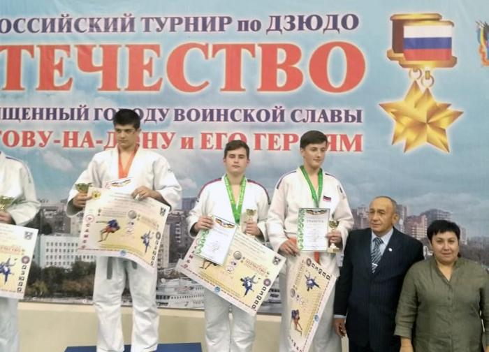 Дзюдоисты вновь отличились на Всероссийских соревнованиях