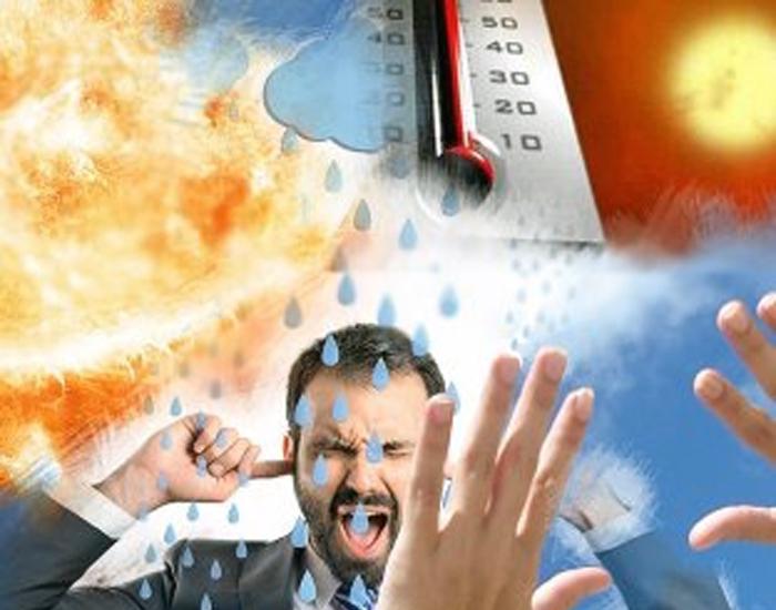 Погода не радует перепадами температуры и атмосферного давления