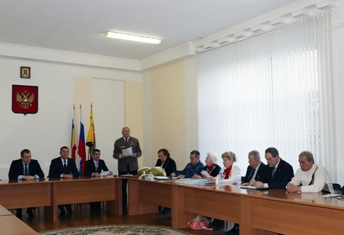 В Совете ветеранов состоялся пленум