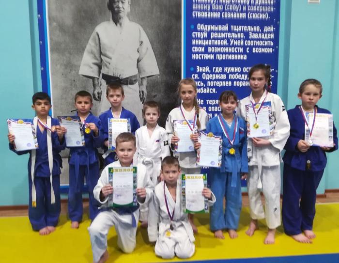 Шахтинские дзюдоисты получили медали высшего достоинства