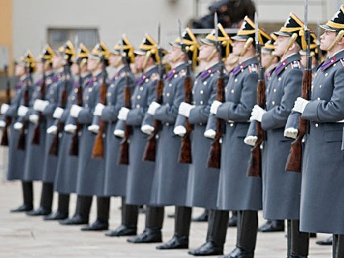 Шахтинские призывники будут служить в Президентском полку
