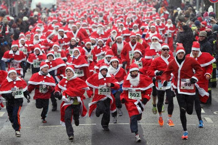 Что нужно для участия в забеге Дедов Морозов?