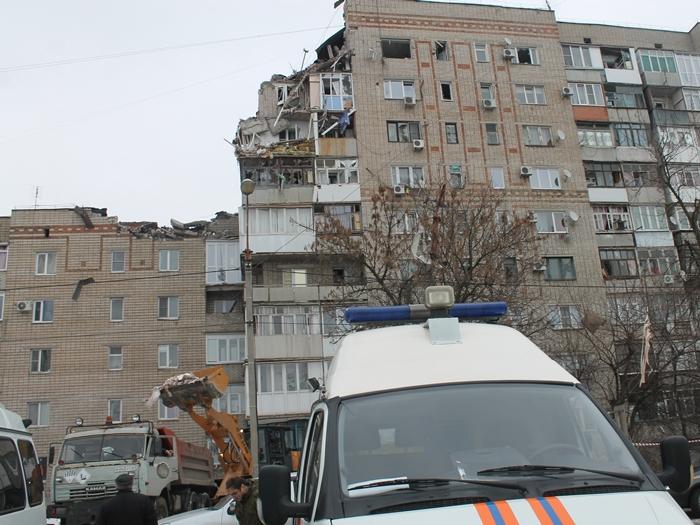 Взрыв на Хабарова — разбор завалов ведут с максимальной осторожностью