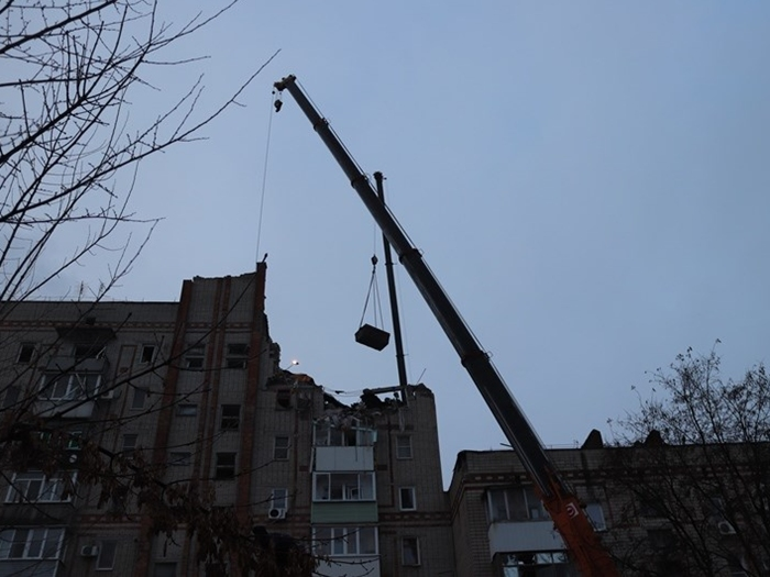 Аварийно-спасательные работы в доме на Хабарова должны завершиться сегодня