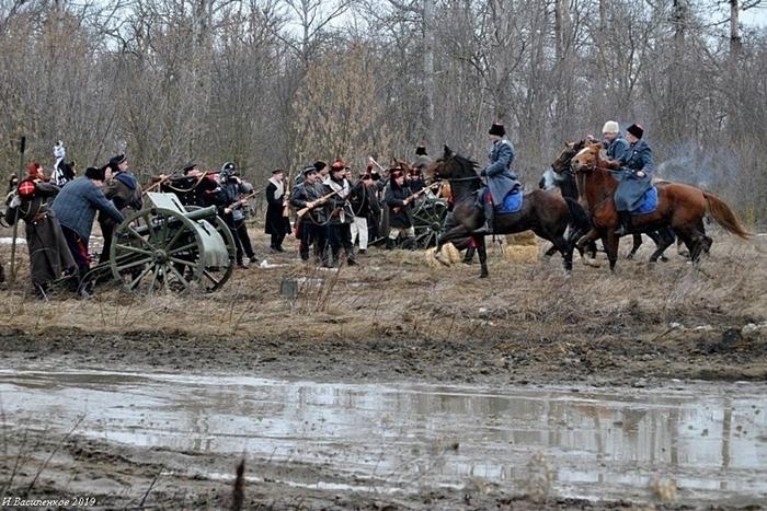 Шахтинские кадеты вновь стали участниками исторической реконструкции