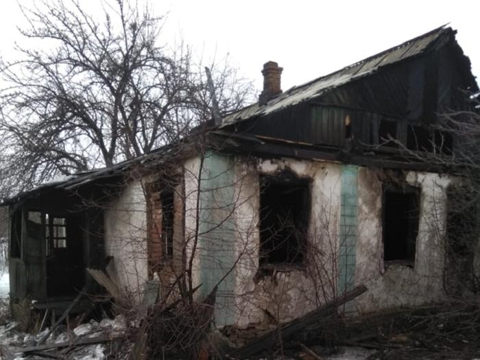 Два человека погибли в огне