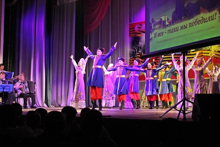 """""""Надежда"""" подарила городу на День освобождения свой отчётный концерт"""
