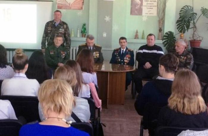В библиотеках города прошли встречи с воинами-интернационалистами