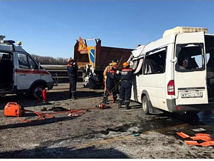 Состояние большинства пострадавших в аварии под Шахтами оценивается как тяжёлое