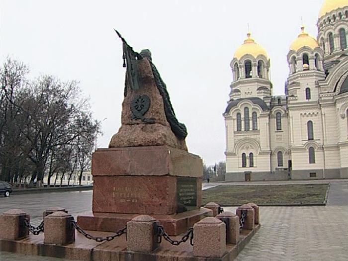 Кадеты-шахтинцы отметили 210-летие со дня рождения атамана Якова Бакланова