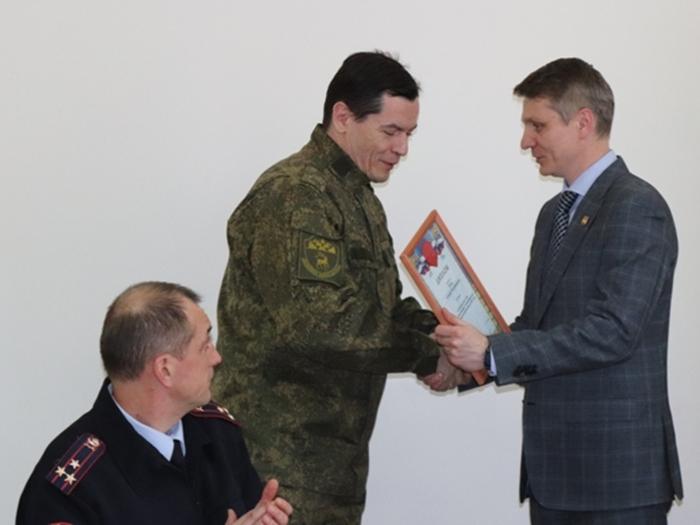 Лучшим народным дружинником города Шахты стал Алексей Тузов