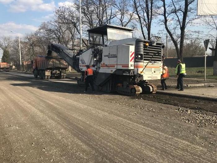 Начался капитальный ремонт дороги по улице Маяковского