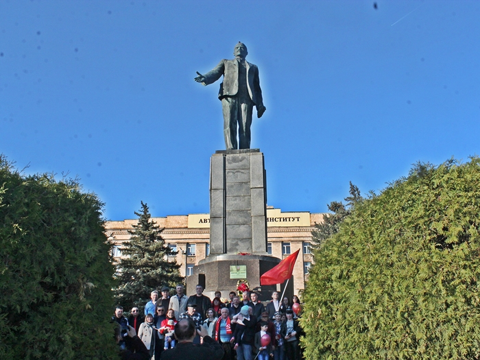 В Шахтах отметили день рождения В.И. Ленина