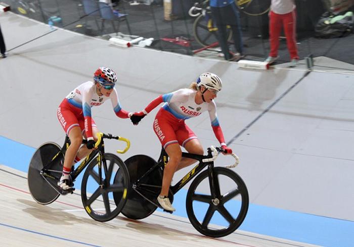 Трековая программа принесла в копилку велосипедистов гору медалей
